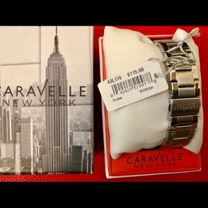 Caravelle Accessories - NWT Caravelle Crystal Watch